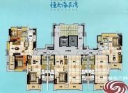 珠海恒大海泉湾花园米克诺斯-44栋2层平面图