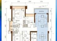 珠海五洲家园26栋03户型